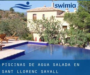Piscinas de agua salada en sant lloren savall barcelona for Piscina agua salada madrid