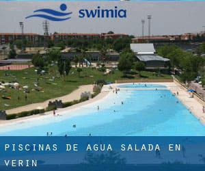 Piscinas de agua salada en Vern  Orense  Galicia  Espaa por